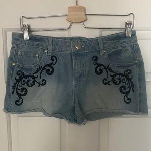Material Girl Jean shorts